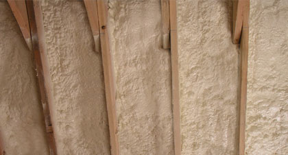 closed-cell spray foam for Calgary applications